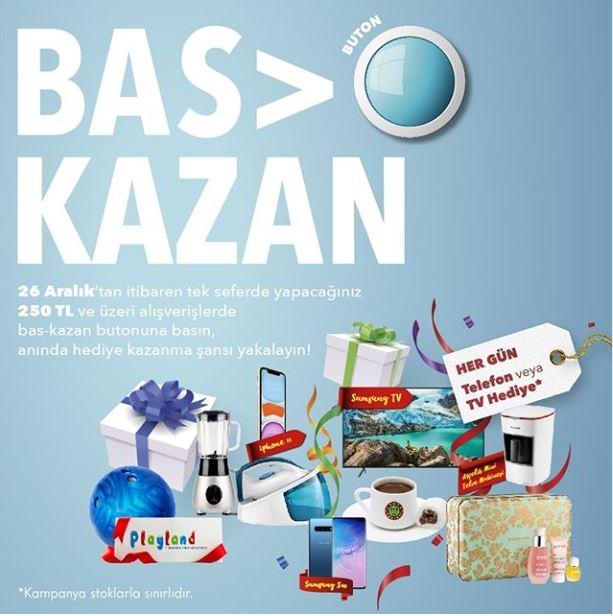 Bas kazan yarışması Forum Mersin'de!