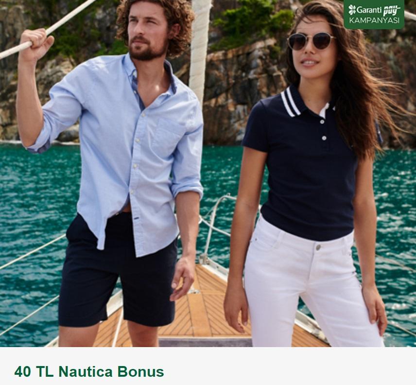 Garanti Pay'a özel 40 TL Nautica Bonus