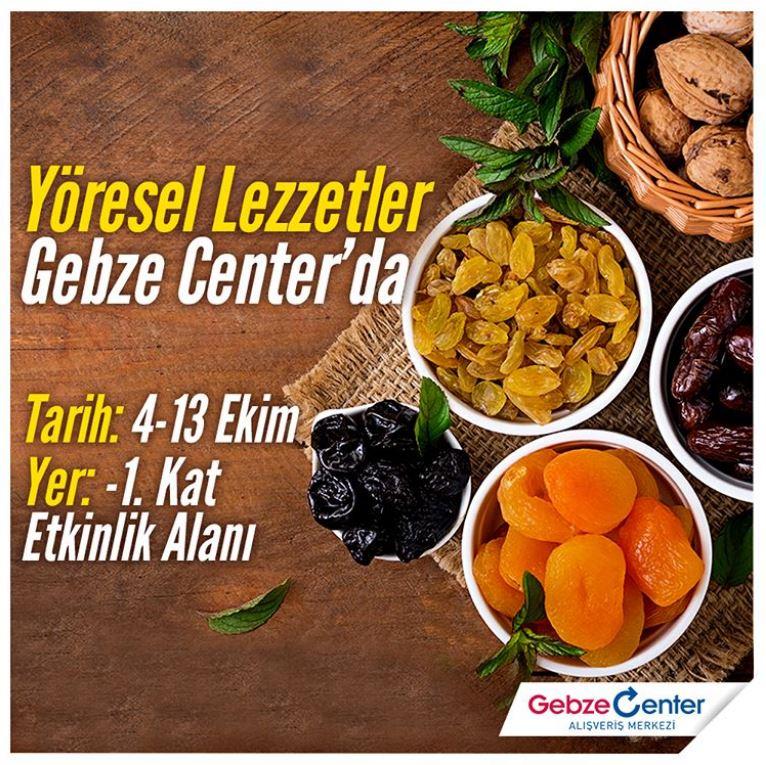 Gebze Center Yöresel Lezzetler Etkinliği!