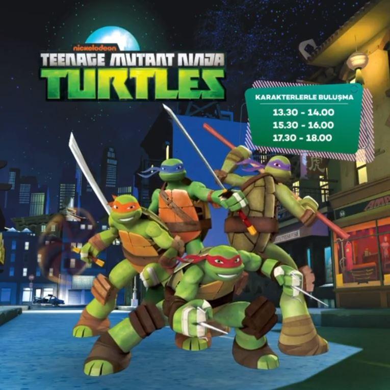 Gordion Paw Patrol ve Ninja Turtles Müzikal Etkinlikleri!