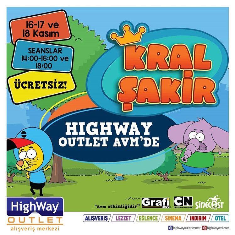 Highway Outlet Kral Şakir Müzikal Etkinliği!