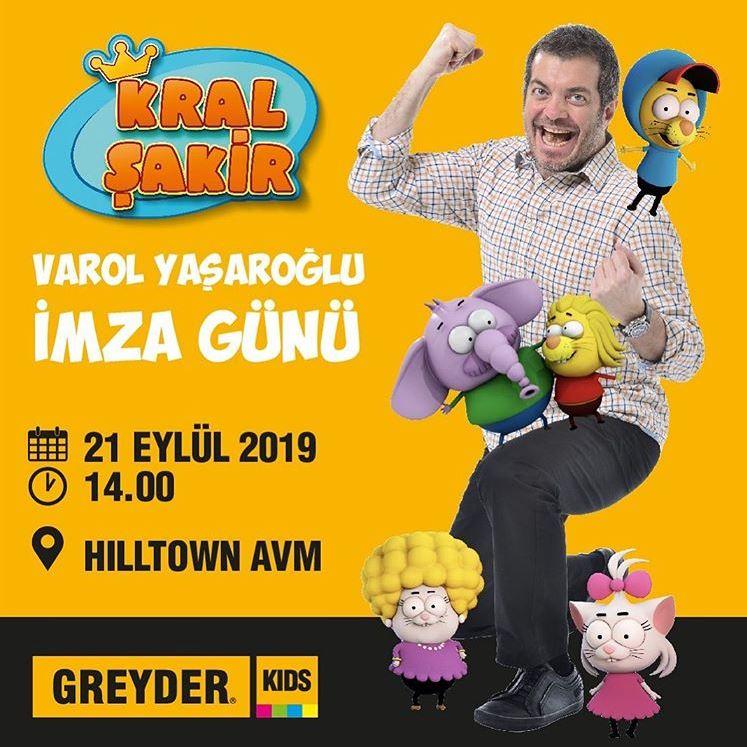 Hiltown AVM Varol Yaşaroğlu İmza Günü!