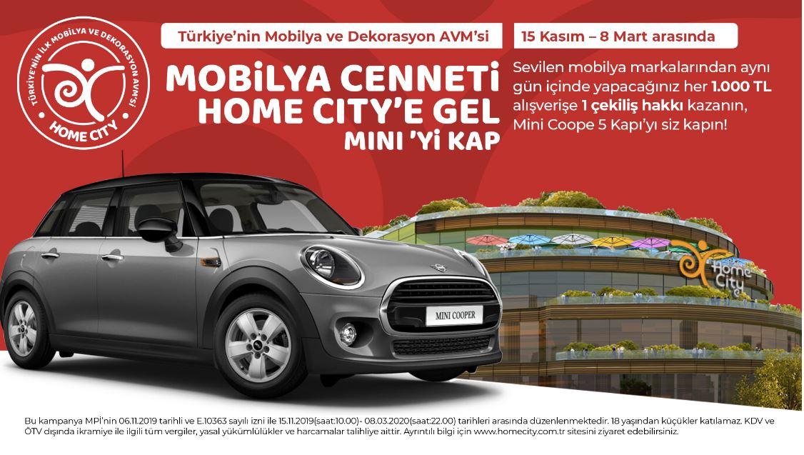 Home City Mini Cooper 5 Kapı Çekiliş Kampanyası!