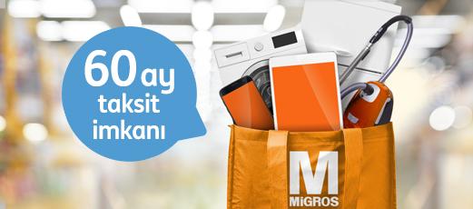 Migros mağazalarında ING kredinizi dilediğiniz zaman kullanın!