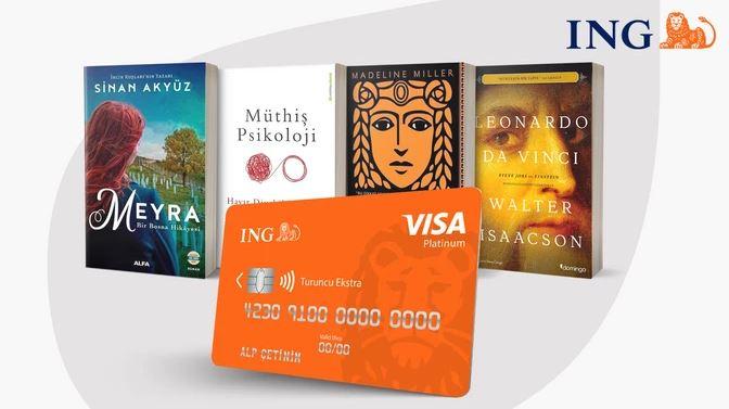 ING Turuncu Ekstra ile Hepsiburada Kitap Alışverişleri %15 İndirimli!