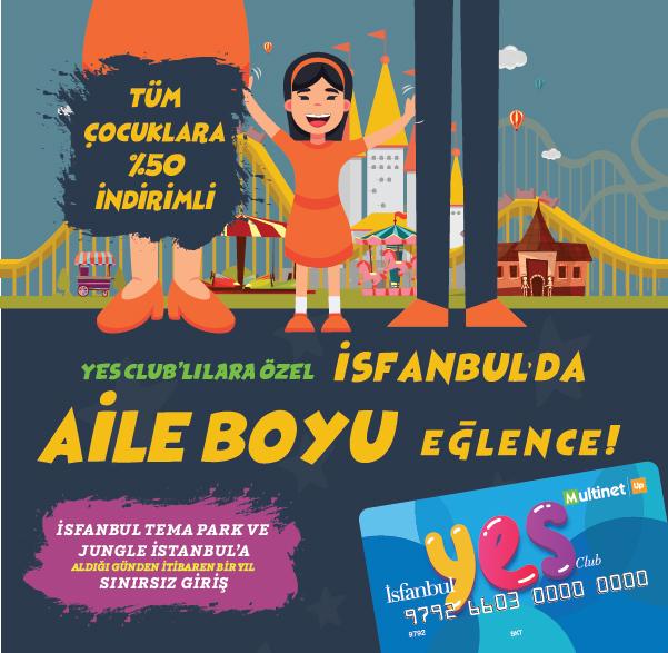 İsfanbul'da Aile Boyu Eğlence!