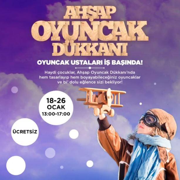 İstanbul Optimum Ahşap Oyuncak Etkinliği!