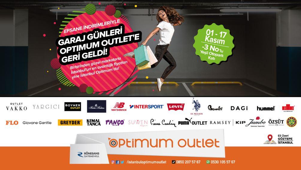 İstanbul Optimum Garaj günleri geri dönüyor!