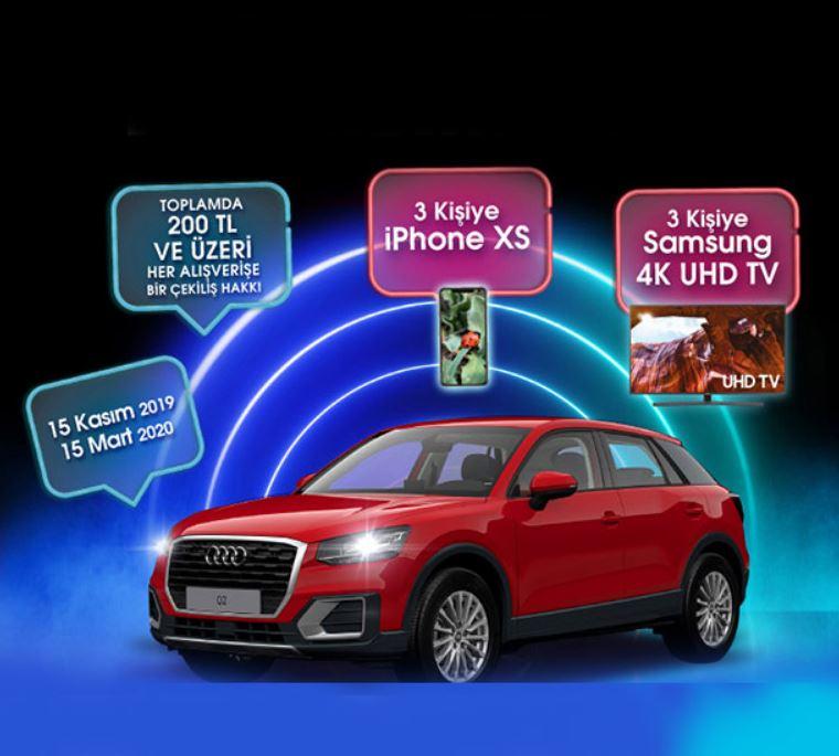 İstMarina AVM Audi Q2 Çekiliş Kampanyası!