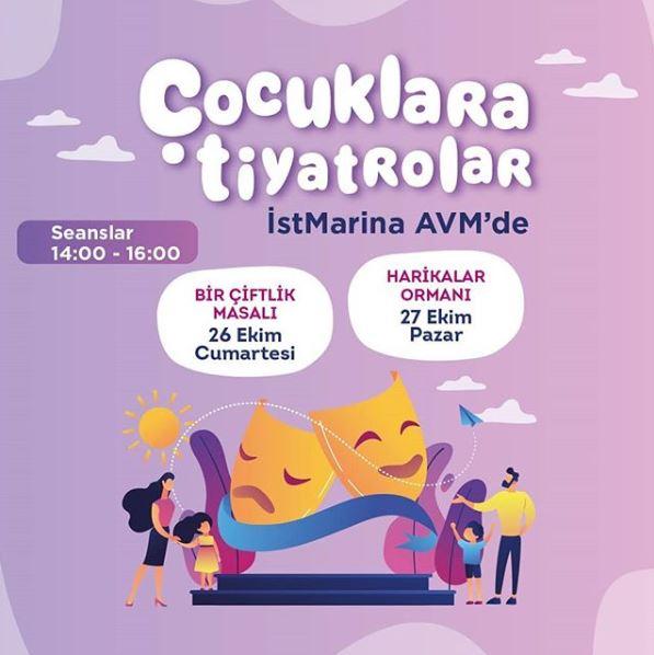 Çocuklara Tiyatrolar İstMarina AVM'de!