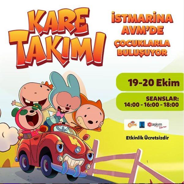 İstmarina AVM Kare Takımı Müzikal Etkinliği!