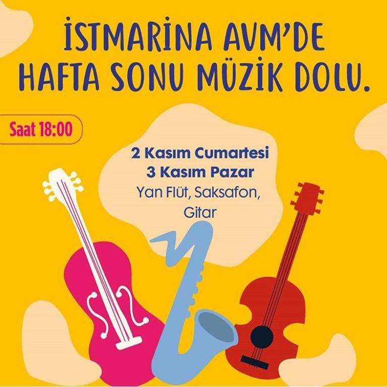 İstMarina AVM'de Hafta Sonu Müzik Dolu!