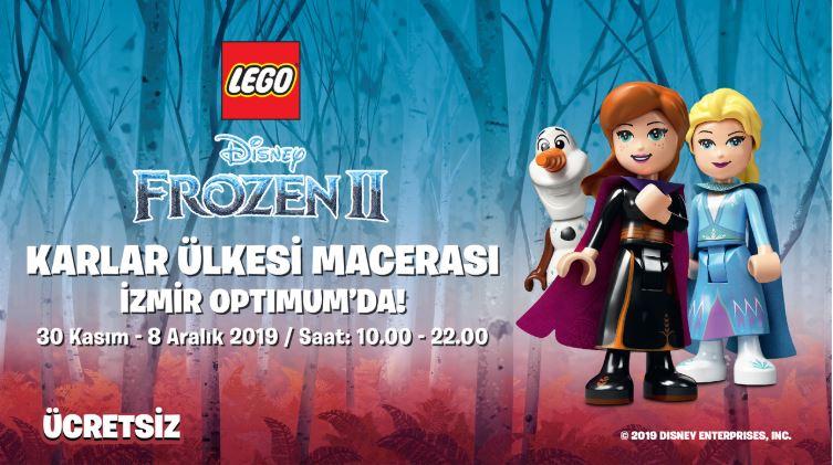 İzmir Optimum Lego Disney Frozen 2 Etkinliği!