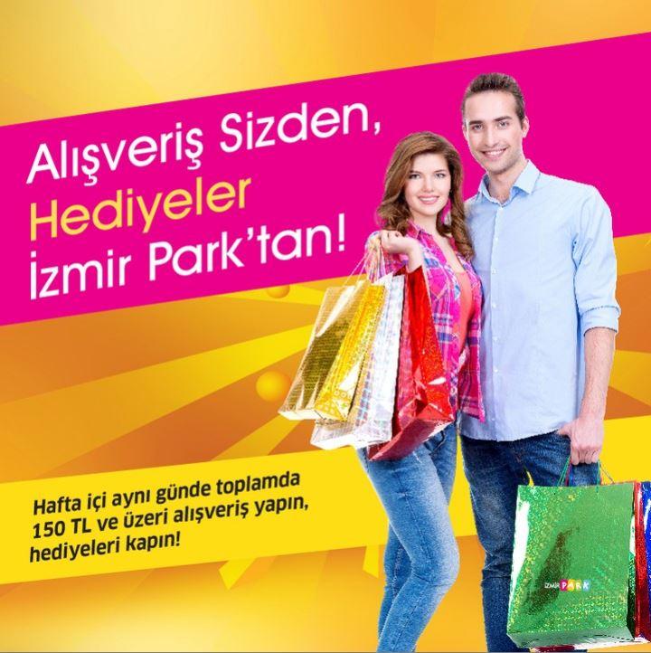 Alışveriş Sizden, Hediyeler İzmir Park'tan!
