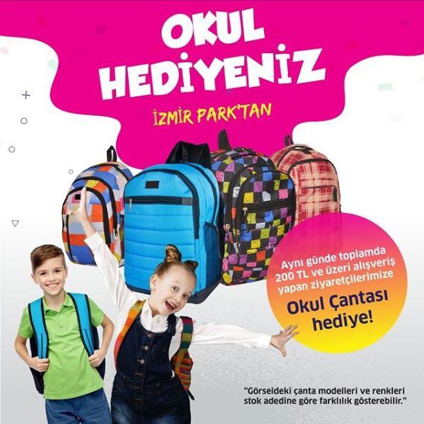 Okul Hediyeniz İzmir Park'tan!