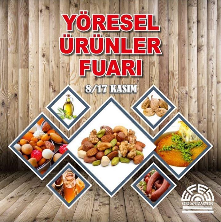 İzmir Park Yöresel Ürünler Fuarı!