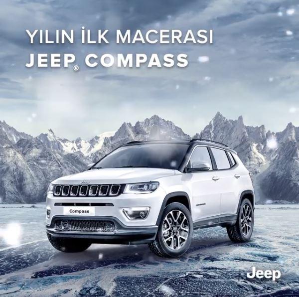 Jeep Compass Şubat ayı boyunca 20.000 TL indirimle!