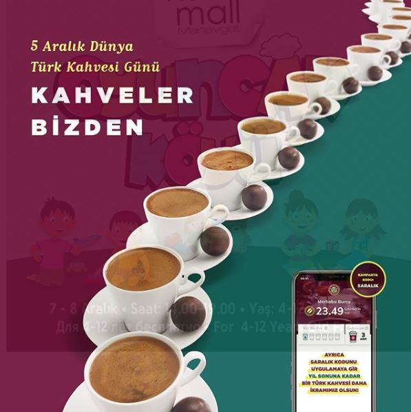 5 Aralık Dünya Kahve Gününde Kahveler Kahve Dünyası'ndan!