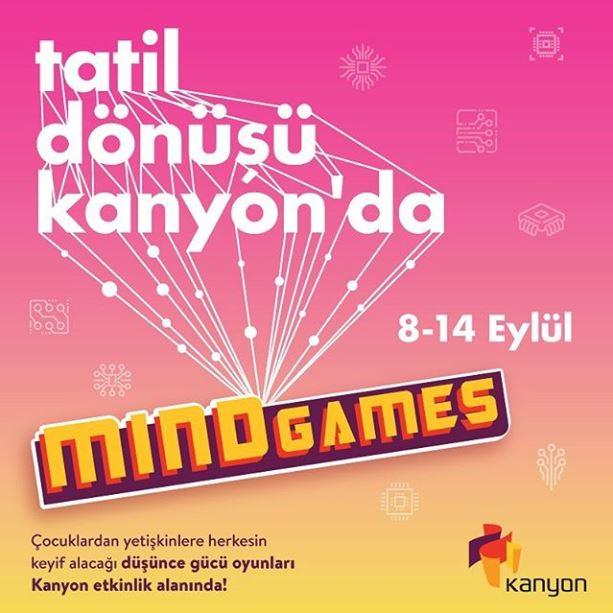 Kanyon Mind Games Etkinliği!