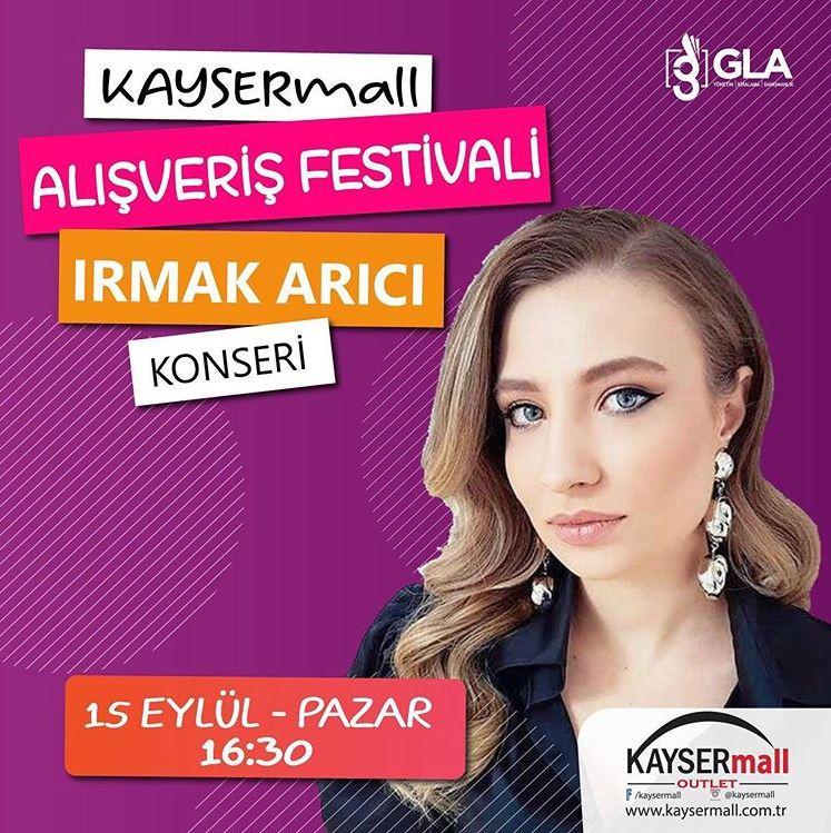 KayserMall Irmak Arıcı Konseri!