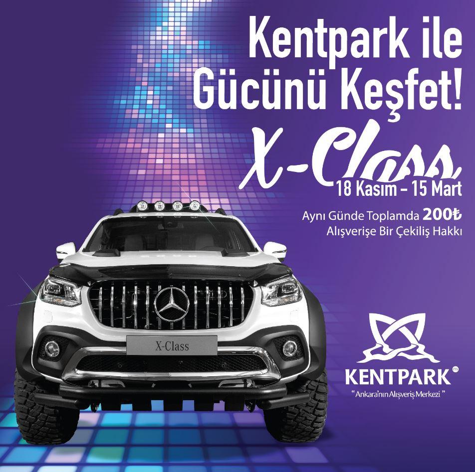 Kentpark Mercedes X-Class Çekiliş Kampanyası!