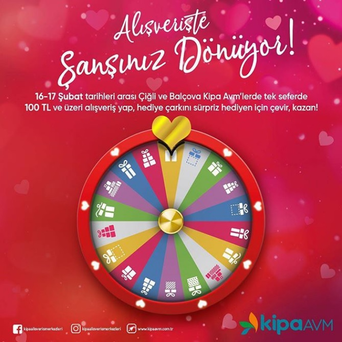 Kipa AVM'den Alışverişte Şansınızı Döndürecek Kampanya!