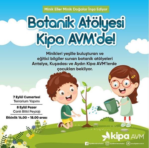 Botanik Atölyesi Kipa AVM'de!