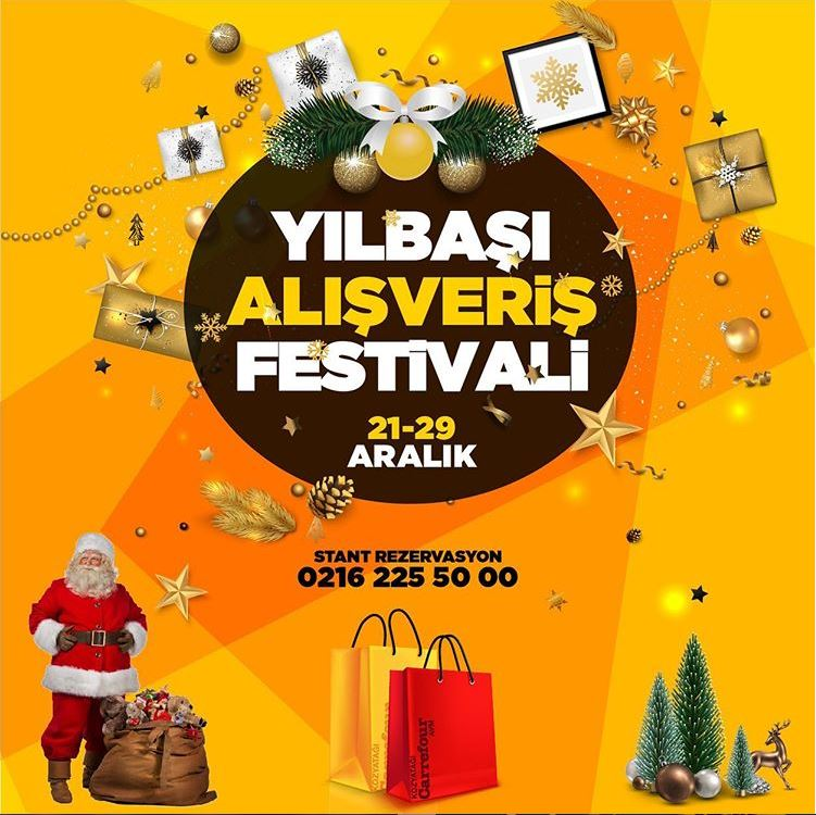 Kozyatağı Carrefour AVM Yeni Yıl Alışveriş Festivali!