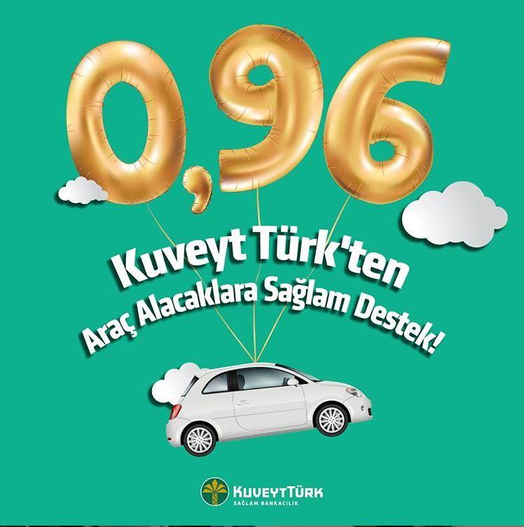 Kuveyt Türk'ten araç sahibi olmak isteyenlere büyük fırsat!