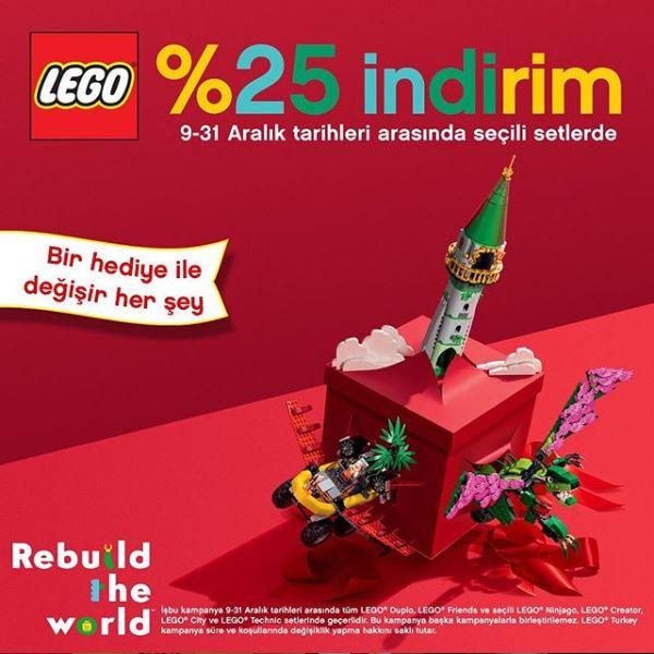 Lego Store'da %25 İndirim Fırsatı!