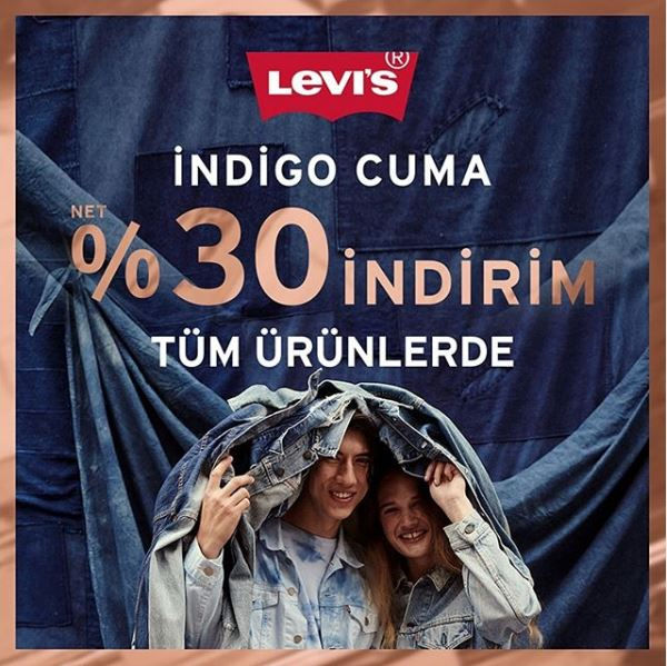 Levi's İndigo Cuma Kampanyası!