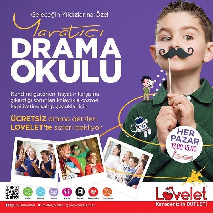 Lovelet AVM Yaratıcı Drama Okulu!