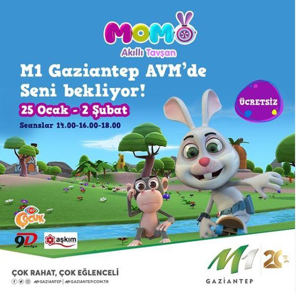 M1 Gaziantep Akıllı Tavşan Momo Etkinliği!