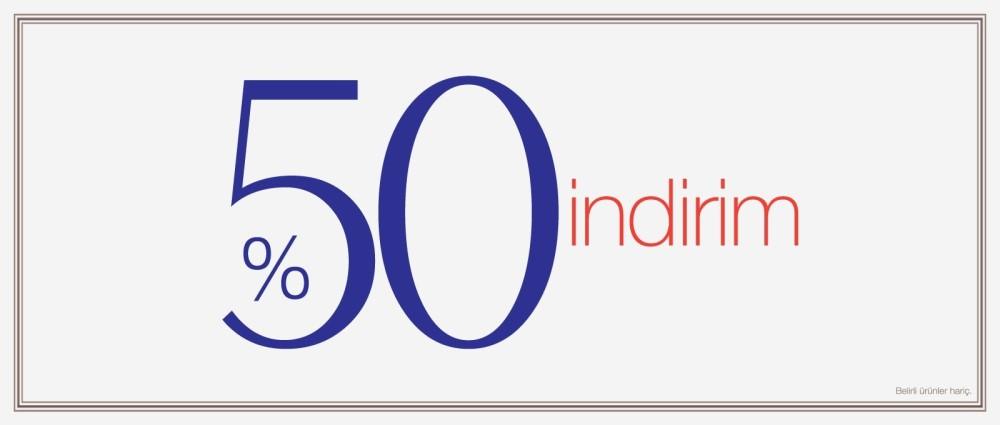 Machka'da %50 indirim