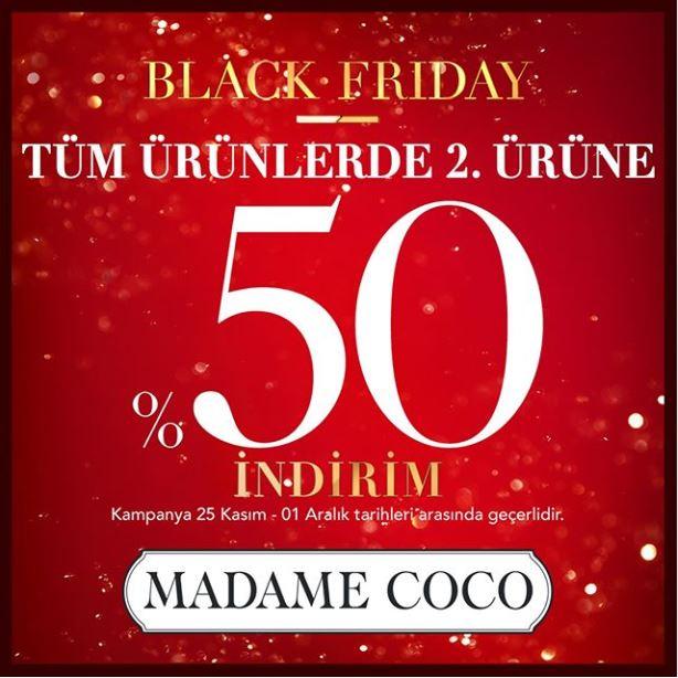 Madame Coco'da Black Friday İndirimi Başladı!