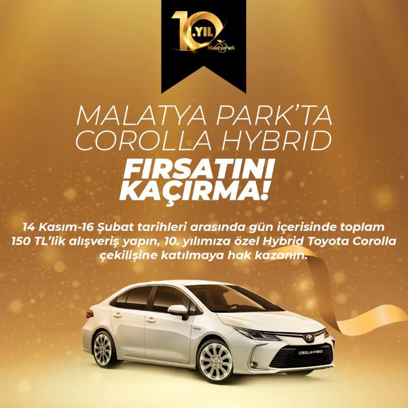 Malatya Park Corolla Hybrid Çekiliş Kampanyası!