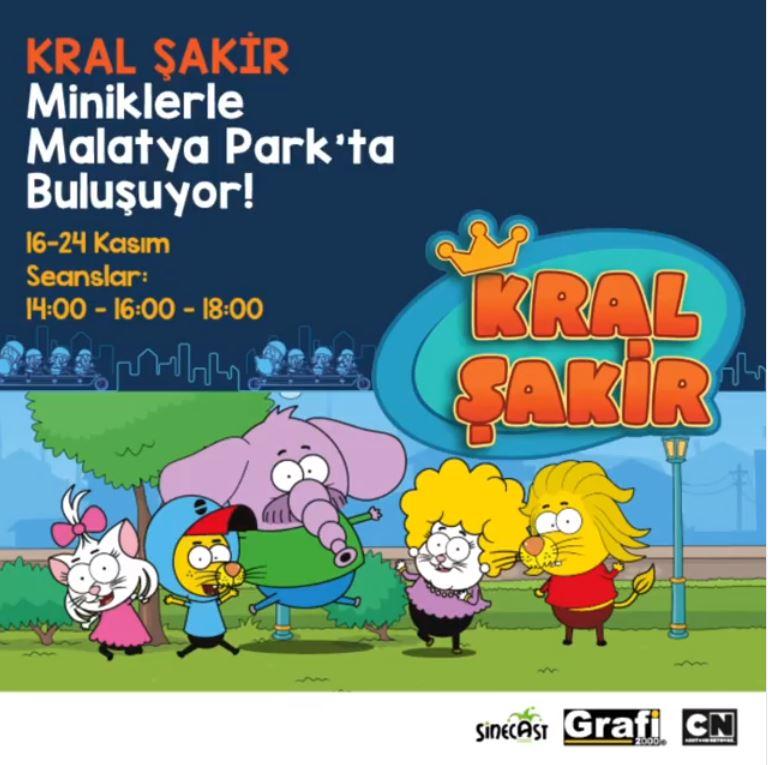Malatya Park Kral Şakir Müzikal Etkinliği!