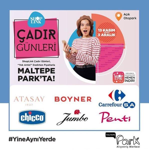 Maltepe Park AVM Çadır Günleri Başladı!