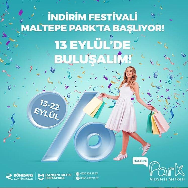İndirim Festivali Maltepe Park'ta başlıyor!