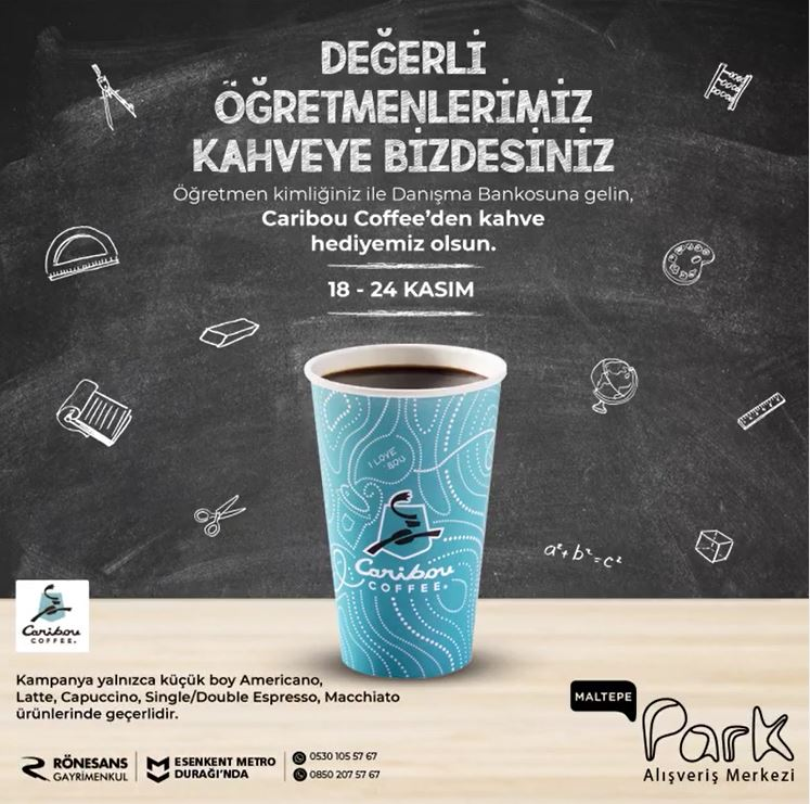 Maltepe Park Öğretmenler Günü Kampanyası!