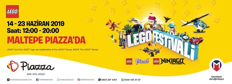 Maltepe Piazza Lego Festivali Başlıyor!