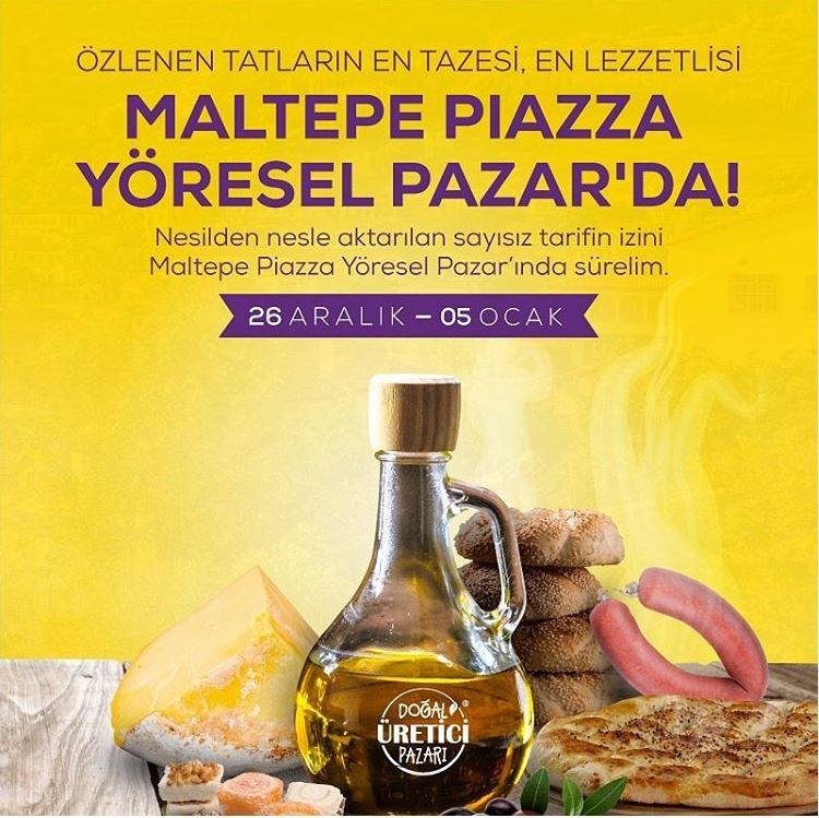 Maltepe Piazza Yöresel Pazar!