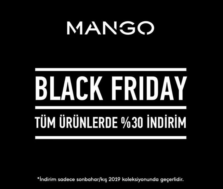 Mango Black Friday Kampanyası!
