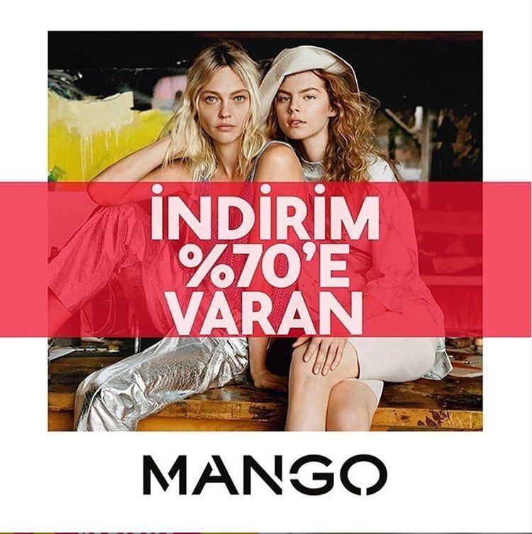 Mango'nun 2. büyük indirimi başladı!