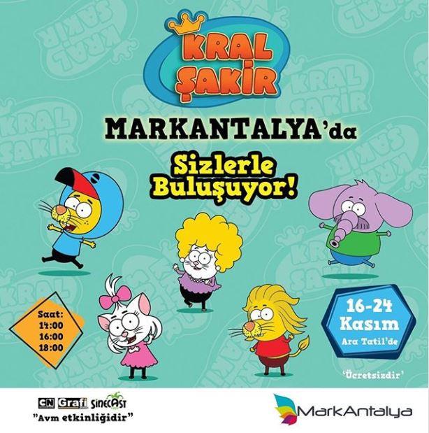Mark Antalya Kral Şakir Müzikal Etkinliği!