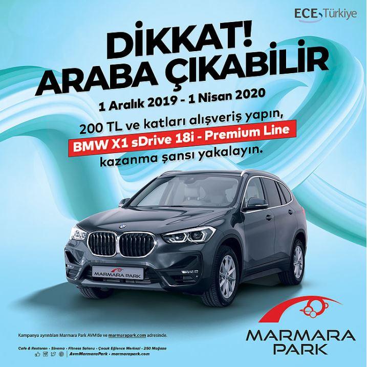 Marmara Park BMW X1 Çekiliş Kampanyası!