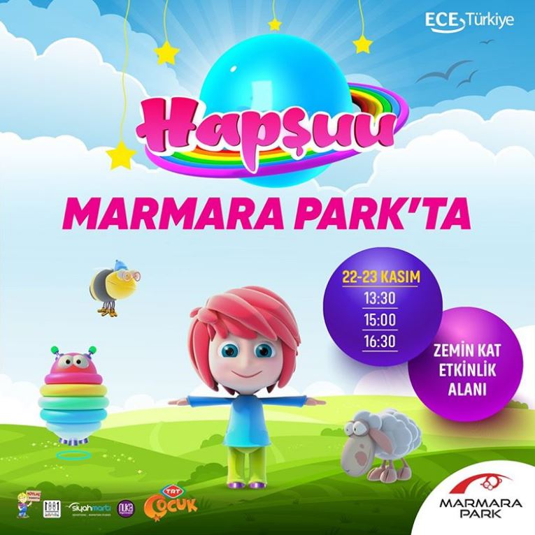 Marmara Park Hapşuu Müzikal Etkinliği!