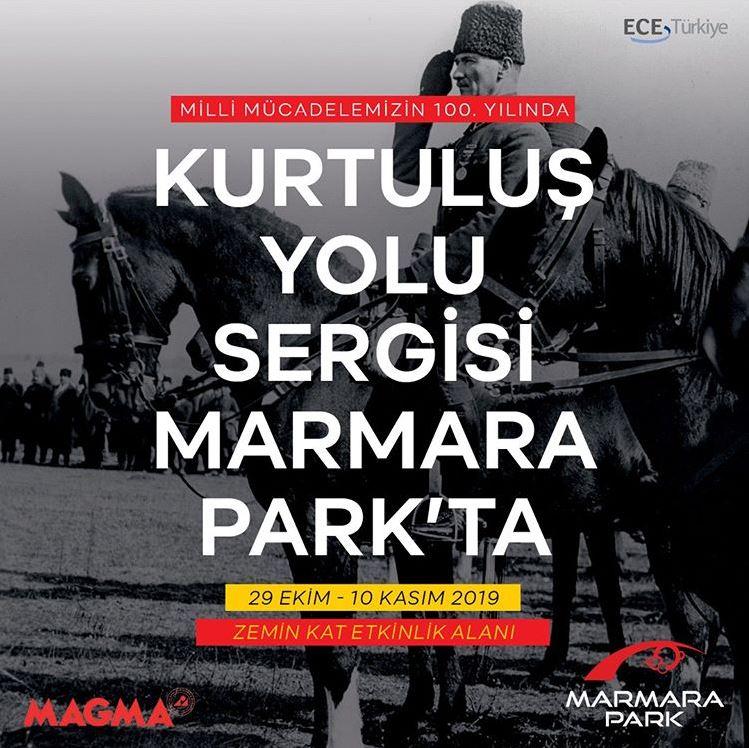 Marmara Park Kurtuluş Yolu Sergisi!