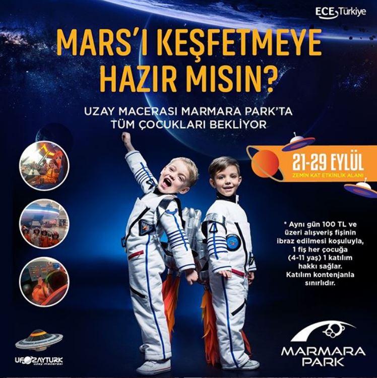 Mars'ı keşfetmeye hazır mısın?