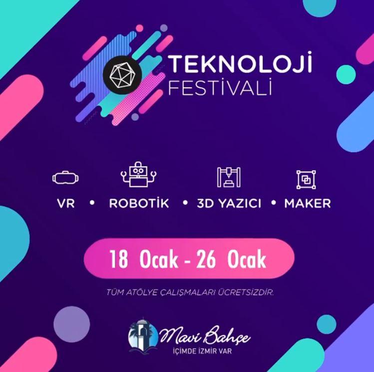 MaviBahçe Teknoloji Festivali!